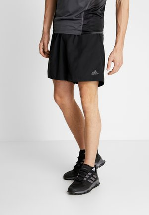 RUN IT SHORT - Urheilushortsit - black