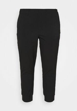 KCHAN PANTS - Trousers - black deep
