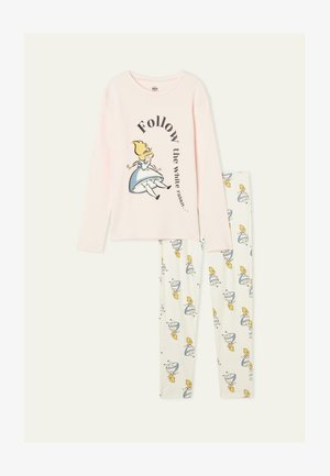 MIT DISNEY ALIC SET - Pyjama -  cloud pink alice print