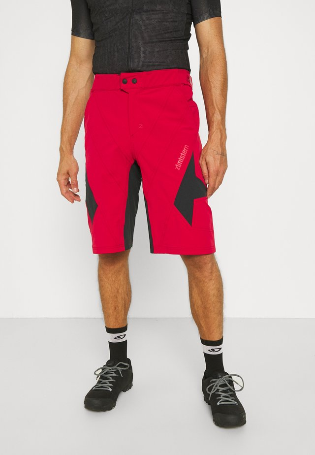 TAURUZ EVO SHORT MENS - Urheilushortsit - jester red/pirate black