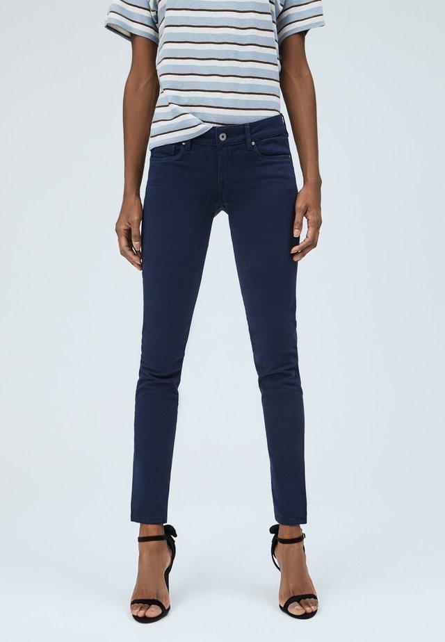 SOHO - Jeans Skinny Fit - dunkel ozaen blau