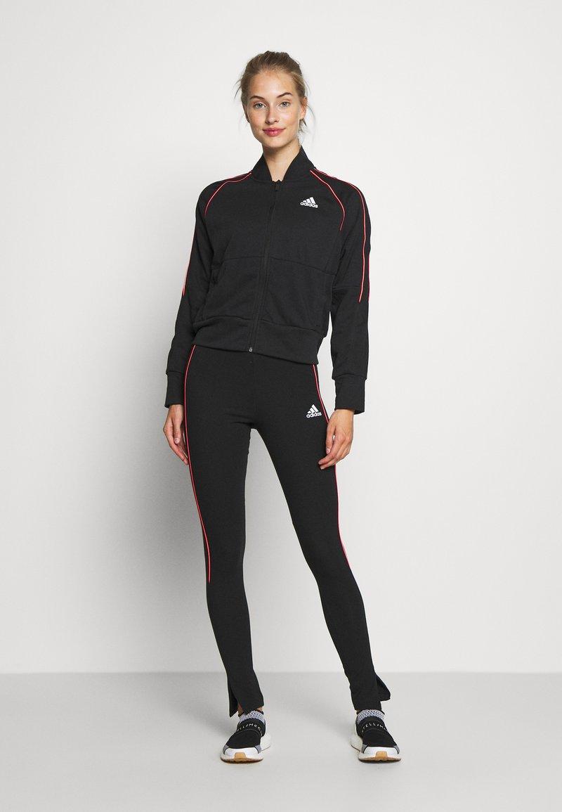 adidas Performance - BOMB SET - Træningssæt - black