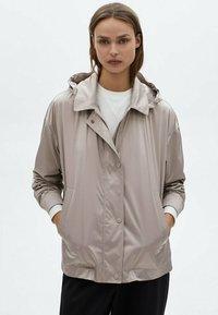 Massimo Dutti - Outdoor jacket - beige - 0