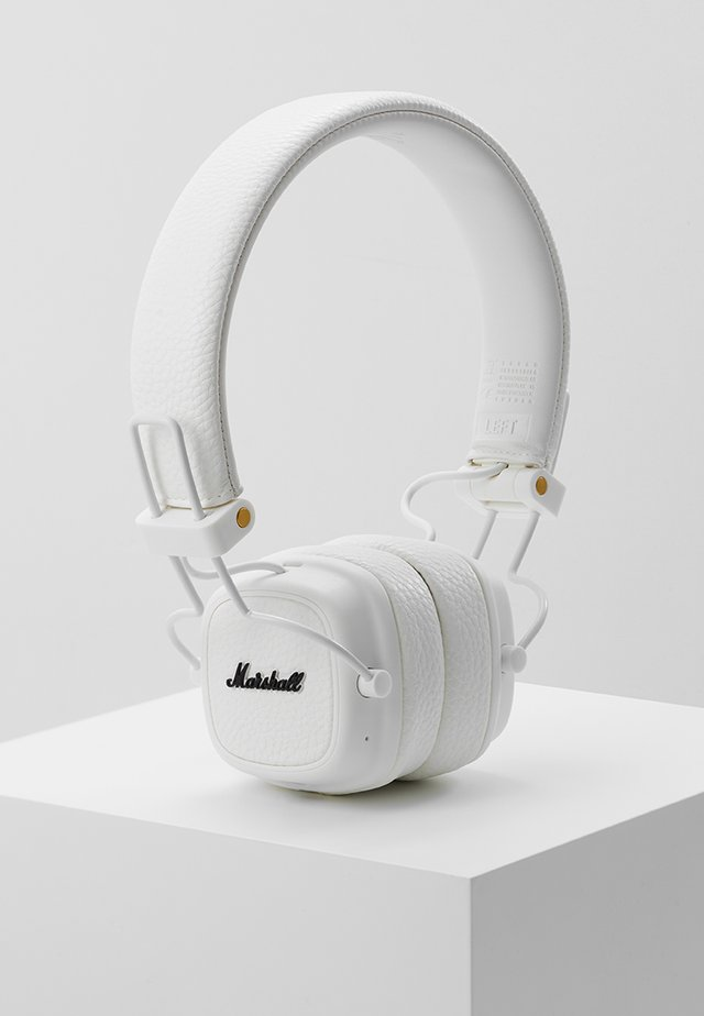 MAJOR III BLUETOOTH - Headphones - white