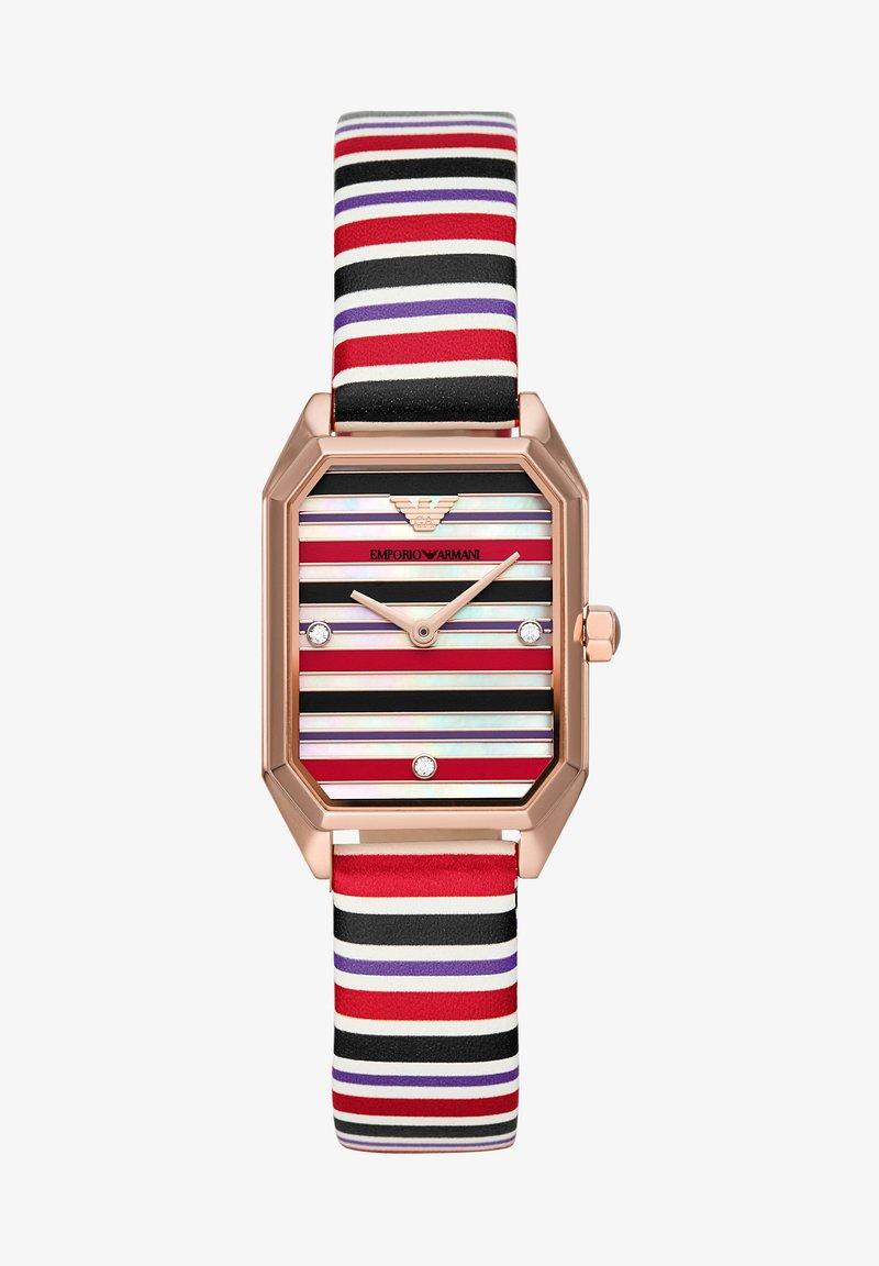 Emporio Armani - GIOIA - Watch - black,purple,red,white