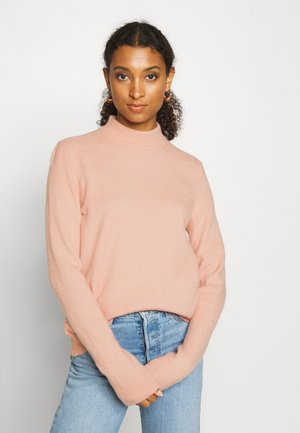 PCBIANCA HIGH NECK - Jumper - misty rose