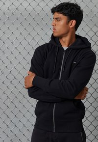 Superdry - Zip-up hoodie - black - 0