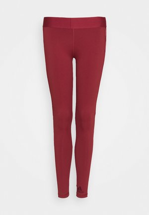 Tights - legend red/maroon