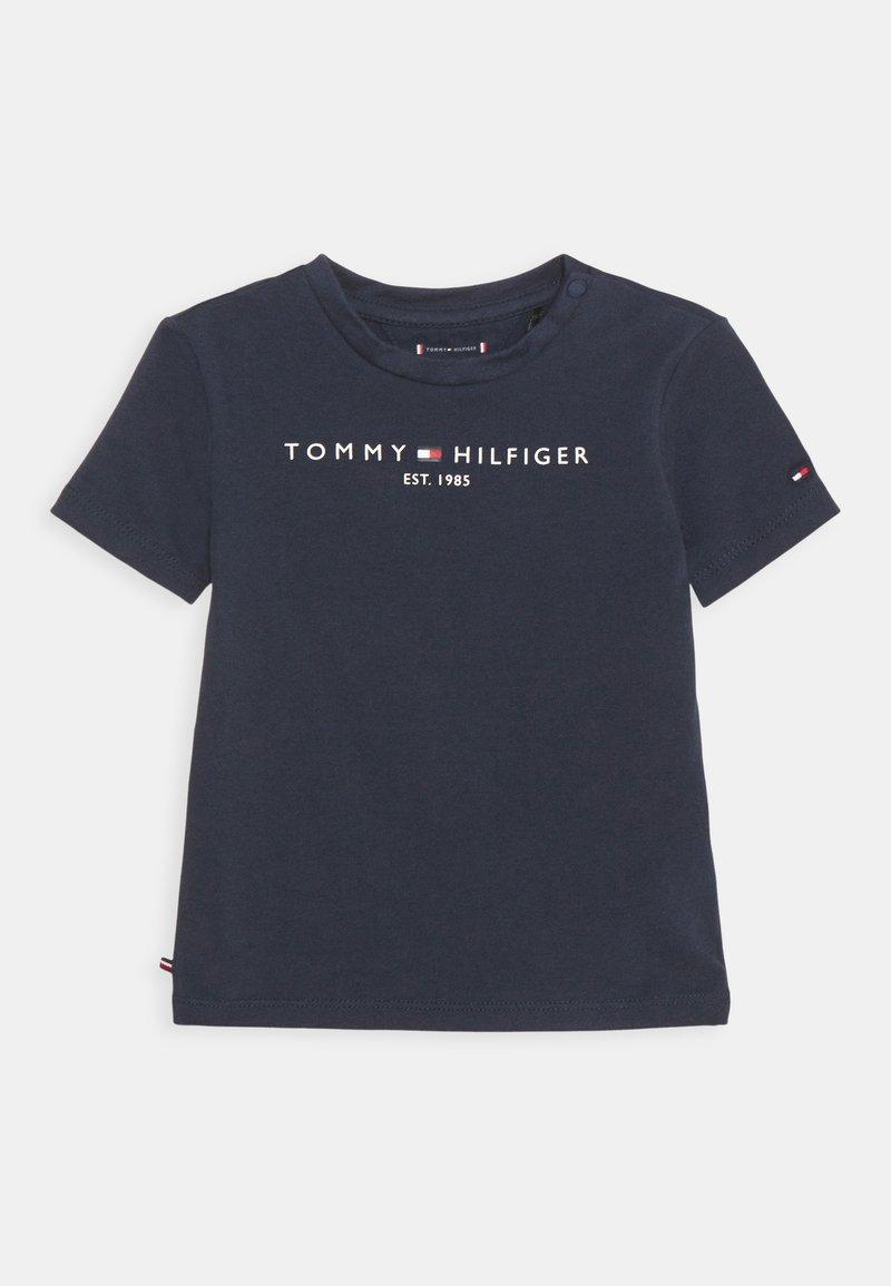 Tommy Hilfiger - BABY ESSENTIAL TEE UNISEX - Print T-shirt - twilight navy