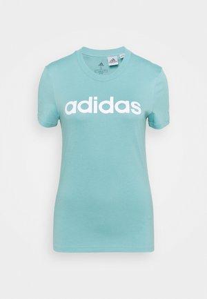 Camiseta estampada - mint ton/white