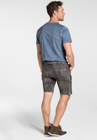 Spieth & Wensky - MARVIN - Leather trousers - grey - 1