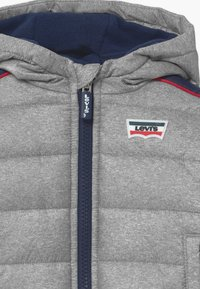 Levi's® - COLOR BLOCK PUFFER - Winterjas - oyster mushroom - 3