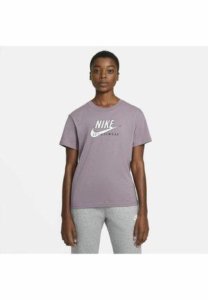 HERITAGE - T-shirt imprimé - purple smoke/pink foam/white/(white)