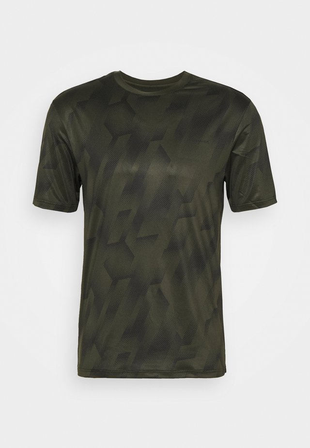 KENTS TEE - T-shirt print - military green