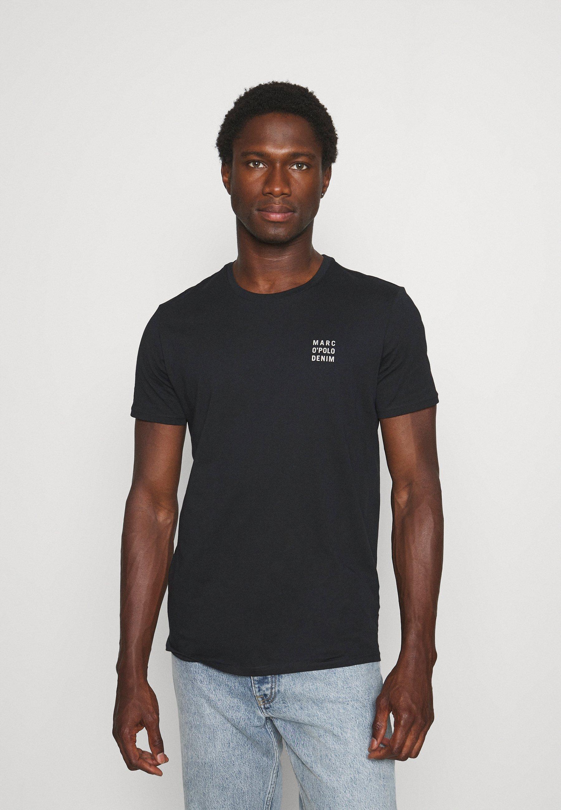 Men SHORT SLEEVE LOGO SMALL - Basic T-shirt