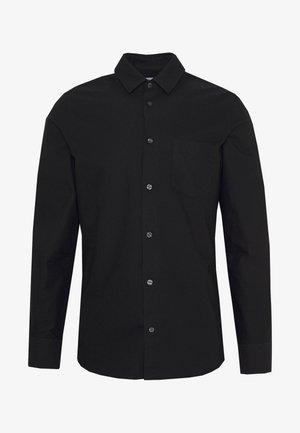 TIM OXFORD - Shirt - black
