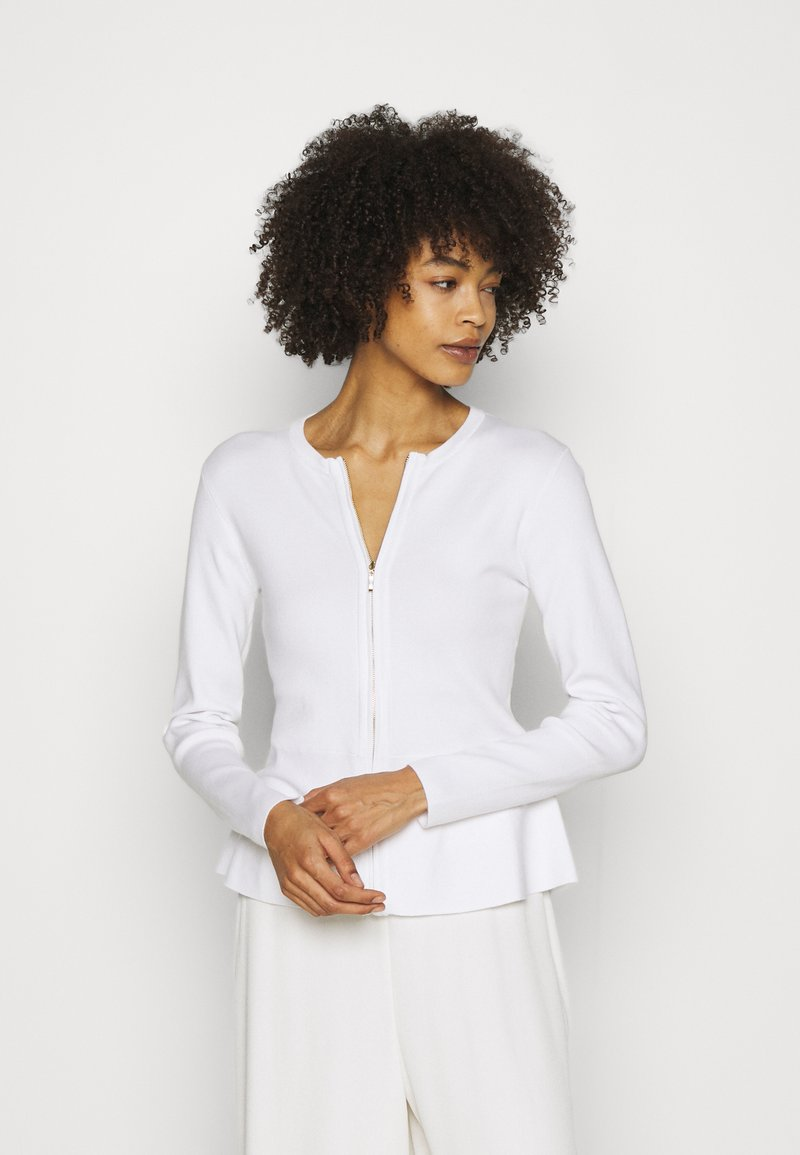 Esprit Collection - PEPLOM CARD - Cardigan - off white