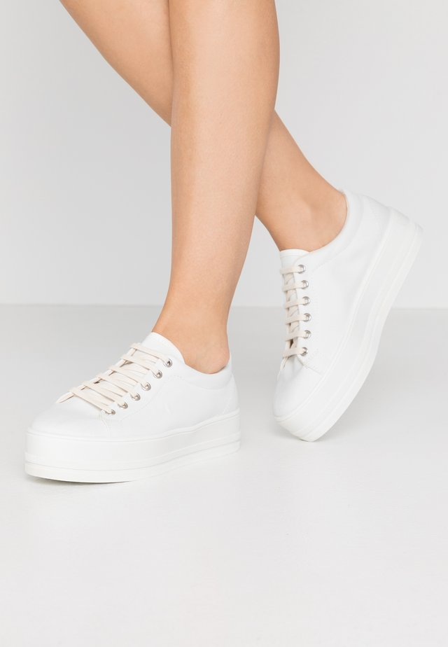 Sneakers laag - offwhite/white