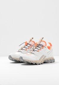 Reebok Classic - DMXPERT - Sneakersy niskie - trace grey/beige/solar orange - 4