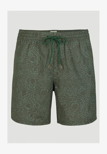 Swimming shorts - green with