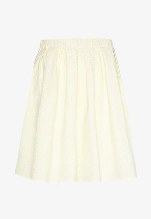 TAESJA STRIPE SKIRT - Áčková sukně - yellow