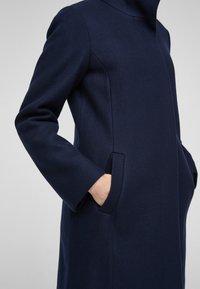 s.Oliver - Classic coat - navy - 6
