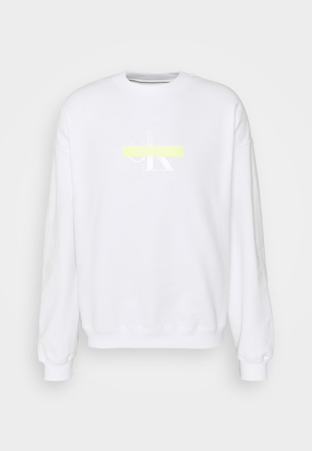 CENSORED RELAXED FIT - Sweatshirt - bright white