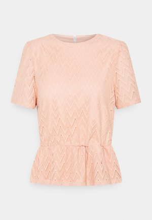 ONLTELIA  - Print T-shirt - misty rose