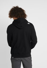 The North Face - OPEN GATE - Zip-up hoodie - black/white - 2