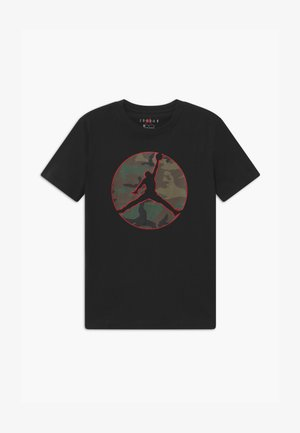 JUMPMAN CAMO TEE - Print T-shirt - black