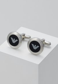 Emporio Armani - Cufflinks - silver-coloured - 0