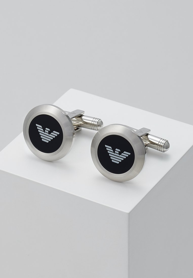 Emporio Armani - Cufflinks - silver-coloured
