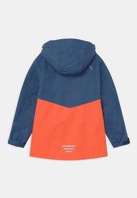 TrollKids - NUSFJORD UNISEX - Hardshell jacket - mystic blue/orange - 1