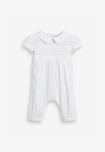 UNISEX - Sleep suit - white