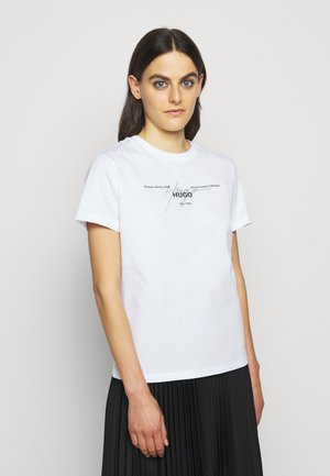 THE REGULAR TEE  - T-Shirt print - white