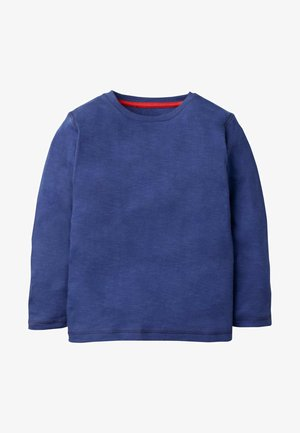 SUPERWEICHES OBERTEIL MIT LANGEN ÄRMELN - Long sleeved top - schuluniform navy meliert