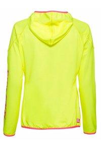 BIDI BADU - INGA TECH JACKET - Training jacket - neon yellow/pink - 1