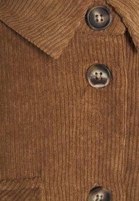 Moves - SAVISA - Button-down blouse - camel - 2