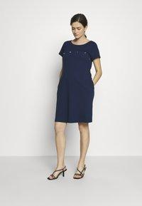 Pomkin - SINIKKA - Sukienka z dżerseju - bleu - 1