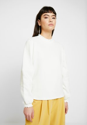 FLYNN  - Sweatshirt - snow white/off white