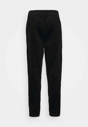 JON TROUSERS - Trousers - black