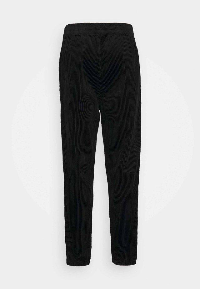 JON TROUSERS - Trousers - black