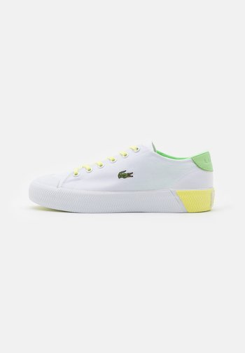 GRIPSHOT  - Trainers - white/light yellow