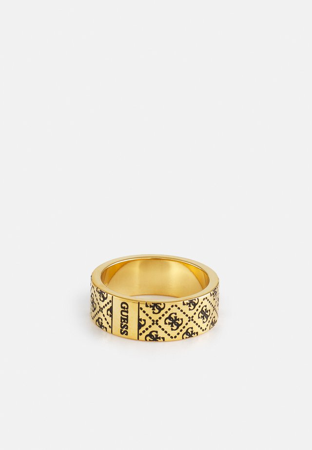 PATTERN RING - Prsten - antique gold-coloured