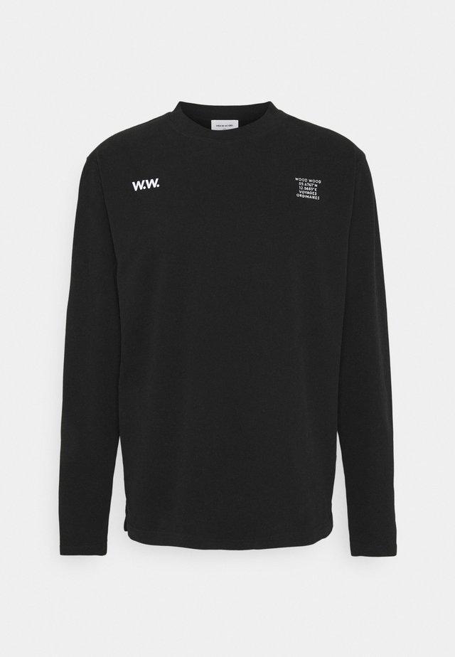 ANAKIN LONG SLEEVE - Long sleeved top - black