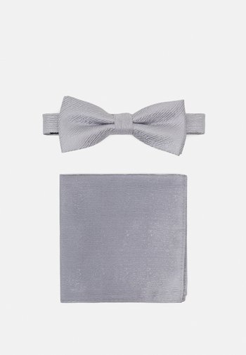 ONSTOBIAS PATTERN BOWTIE SET - Fluga - quiet grey
