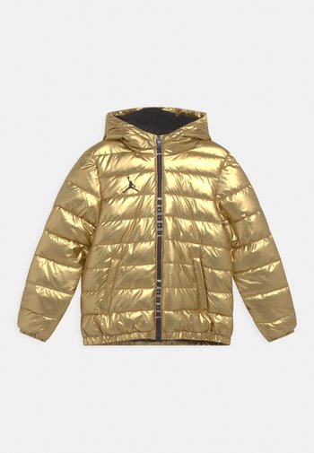 PUFFER - Giacca invernale - metallic gold