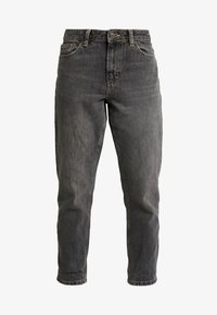 Topshop Petite - MOM CLEAN - Jeansy Relaxed Fit - washed - 3