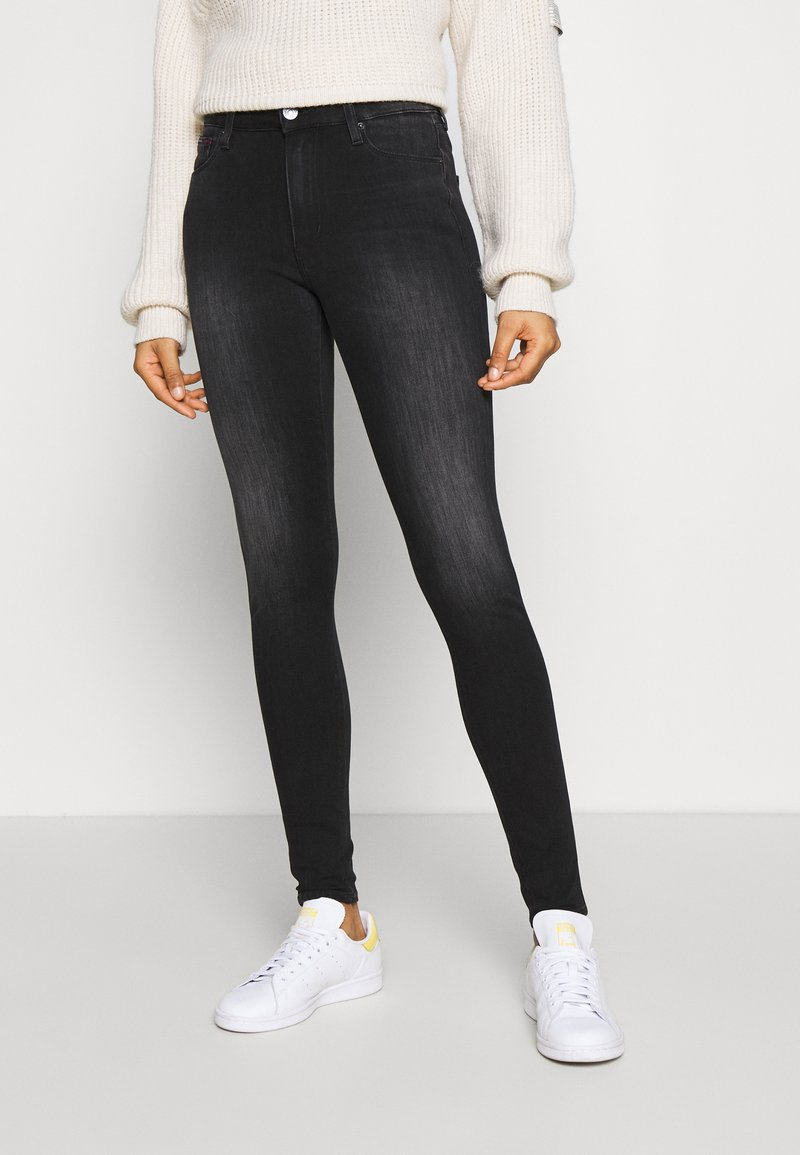 Tommy Jeans - SYLVIA SUPER SKNY - Jeans Skinny Fit - dynamic black