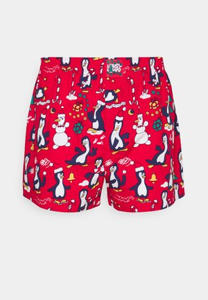 PINGUINS - Boxer shorts - red